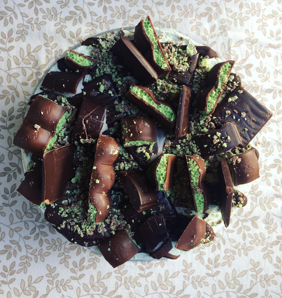 Mint Chocolate Celebration Cake_LHK