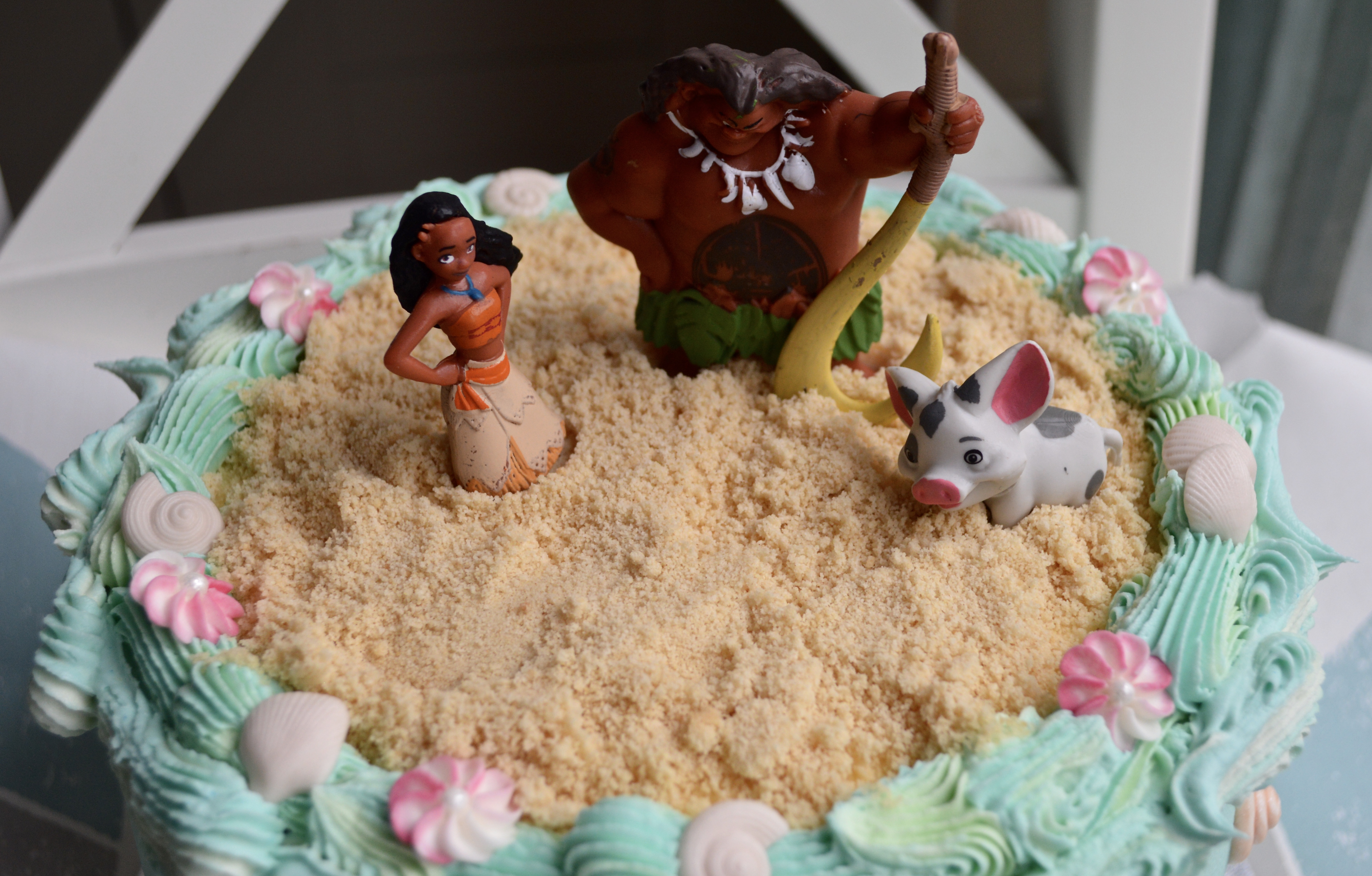 Moana themed cake_LHK