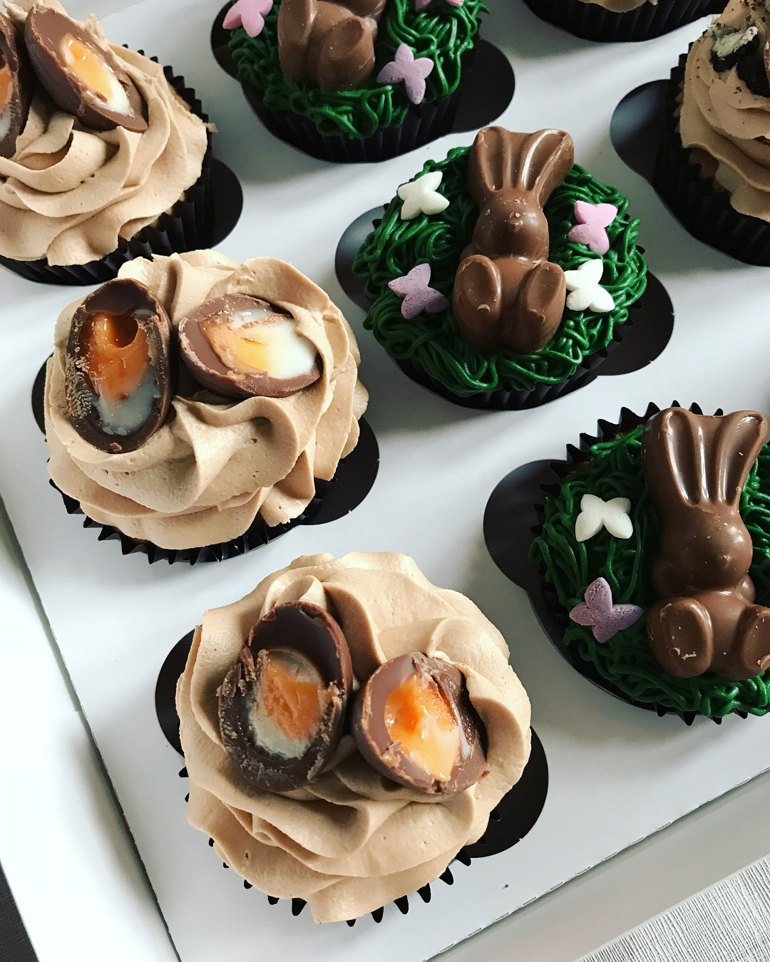 Easter Themed Cupcakes_LHK