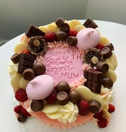 50th Pink Cake_LHK