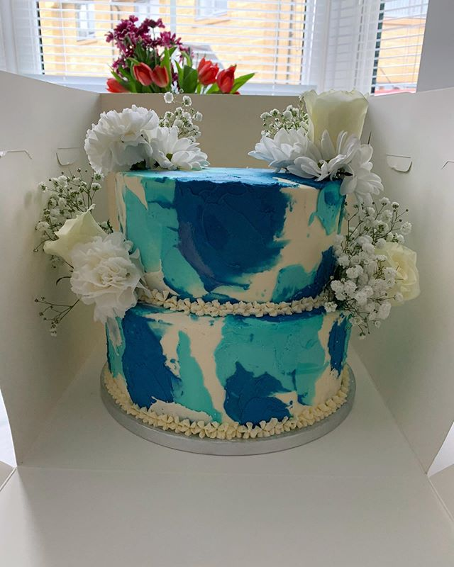 Watercolour cake_LHK