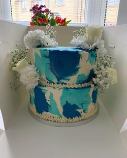 Watercolour cake_LHK