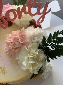 Forty Flower Cake_LHK