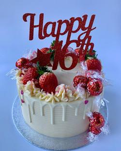 16th Birthday cake_LHK