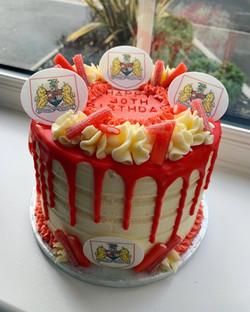 Bristol City Themed Cake