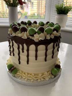 Mint Aero Drip Cake_LHK