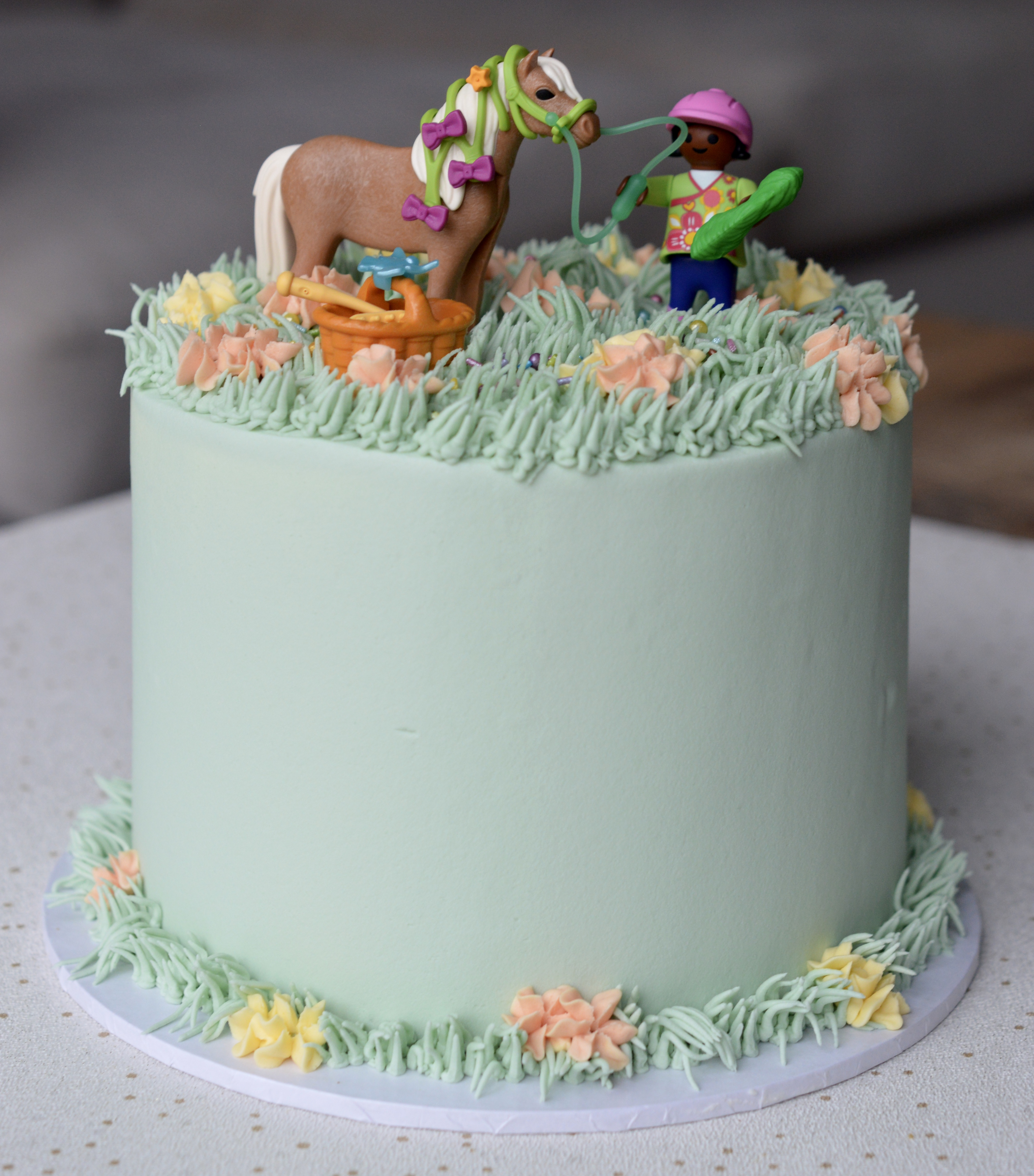 Horse Themed Cake_LHK