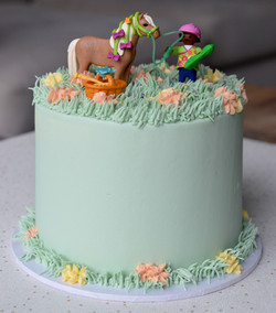 Horse Themed Cake_LHK