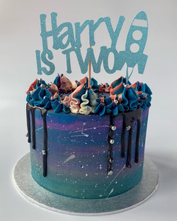Second birthday space cake_LHK
