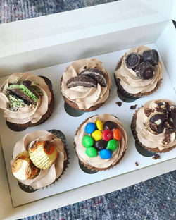 Chocolate cupcake selection_LHK