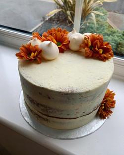 Semi Naked Carrot Cake