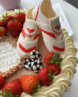 Football themd cake-LHK