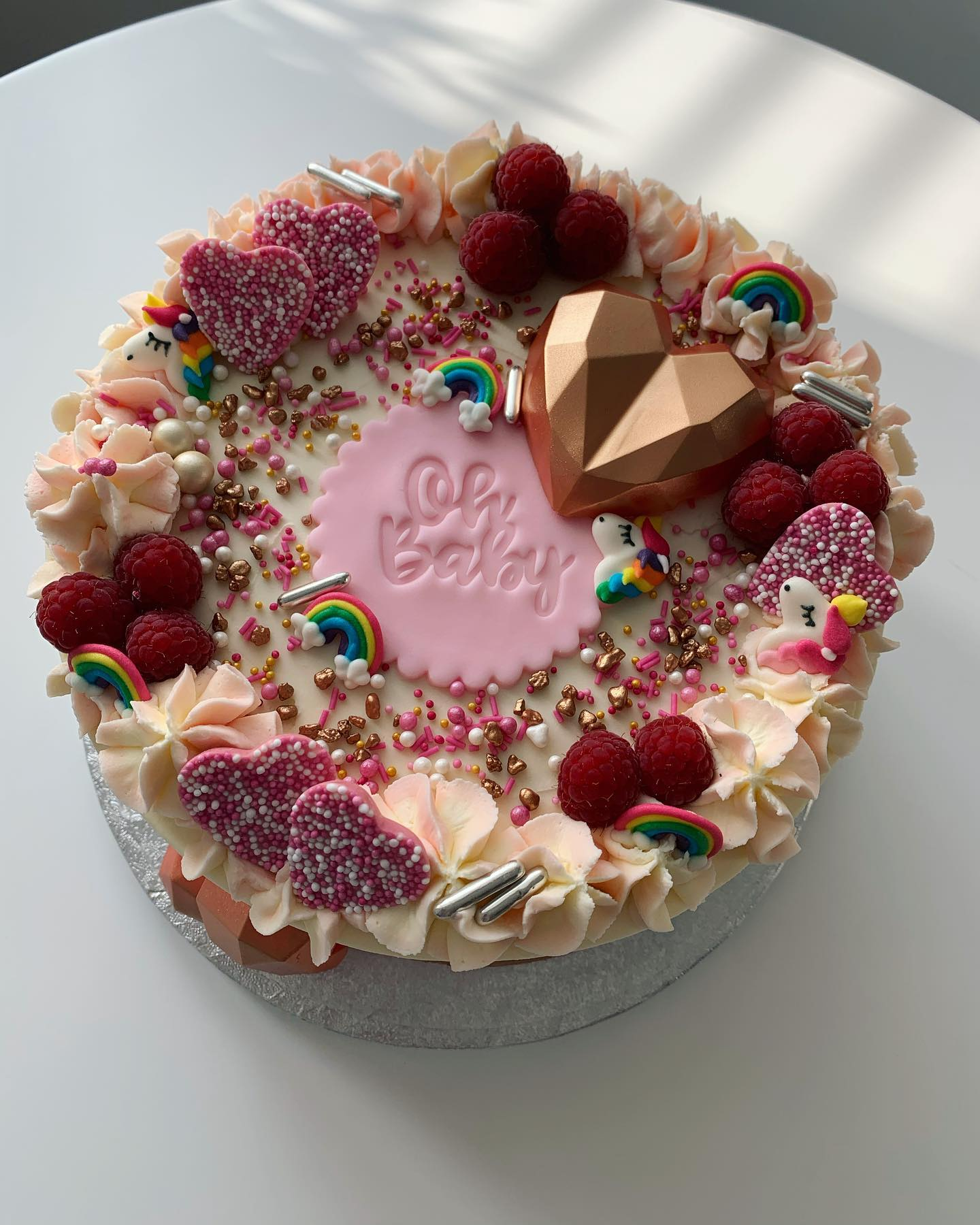 Baby Girl Cake_LHK