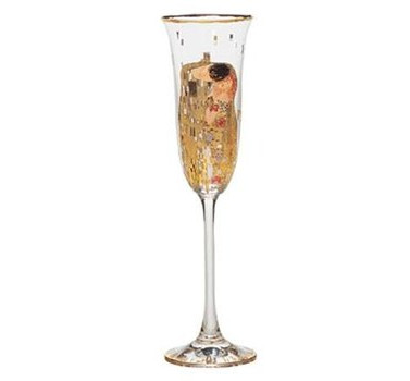The Kiss - Champagne Glass