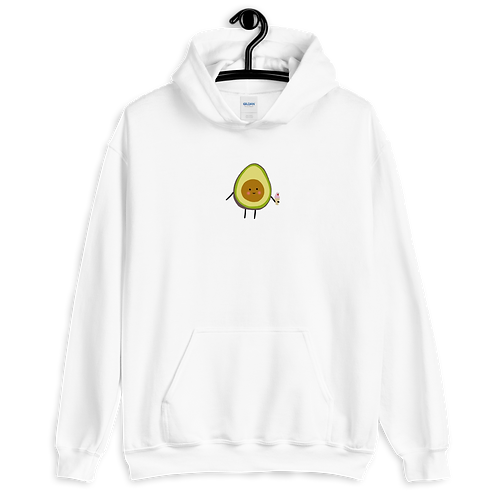 HAPPY AVOCADO -  Support Mental Health - Unisex Hoodie