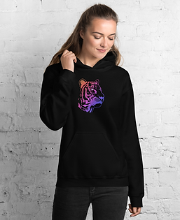 Tiger Hoodie Design