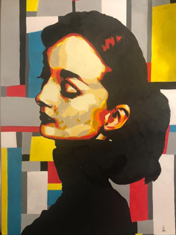 Pop Art Inspired | Painting by Lucy Walker