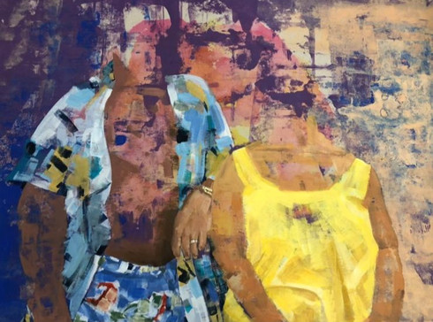 Faded Memories | Painting By Lucy Walker