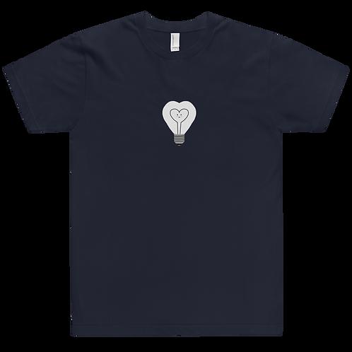 HAPPY LIGHT BULB - Support Mental Health - Unisex T-Shirt
