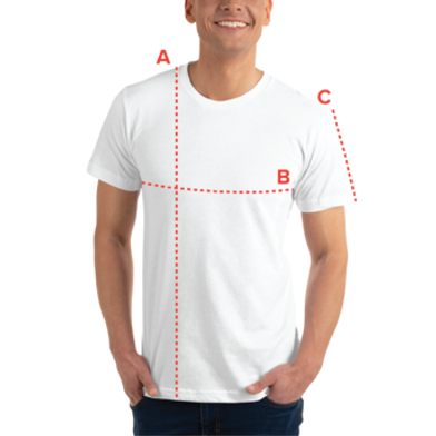 Size guide T-Shirts