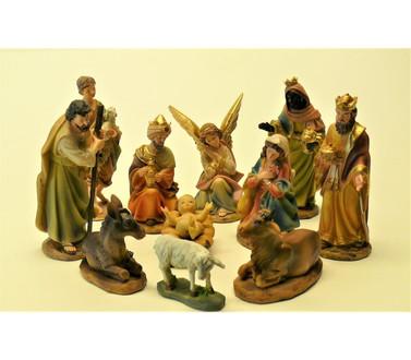 Klassieke Kerststal 8 - delig