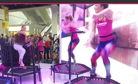 Jumping Fitness twee gratis  proeflessen