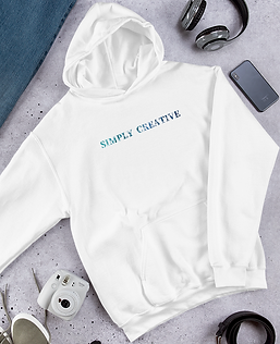 High-Quality Simplistic Hoodie | Simply Creative