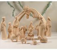 16 delige Grote Kerstgroep