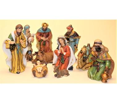 Klassieke Kerststal 10 -delig