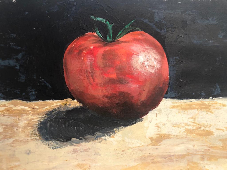 Tomato | Painting By Lucy Walker