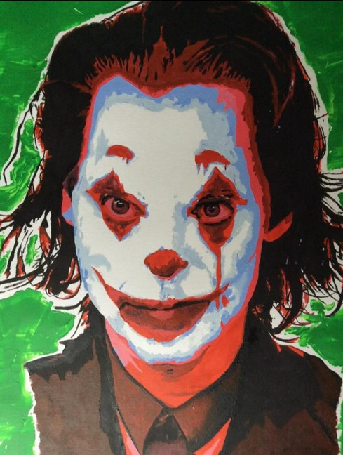 The Joker Pop Art | Painting By Lucy Walker