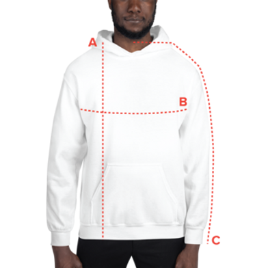 Size guide Hoodies
