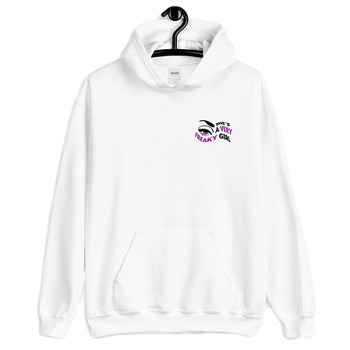 She's a VERY FREAKY GIRL - Women's Hoodie