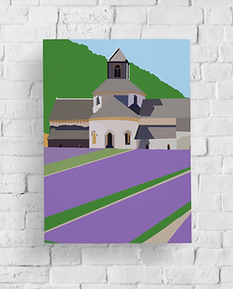 Canvas Print of Digital Art