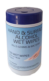Offshoot 70% Isopropyl Alcohol Wet Wipes - 100 Wipes   *PRE ORDER TODAY*