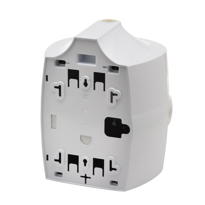 White Wall Mounted Dispenser - back.jpg