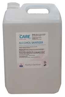 CARE 70% Alcohol Liquid Hand Sanitiser - 5 Litres