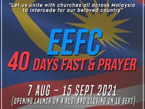 EEFC 40 Days Fast & Prayer