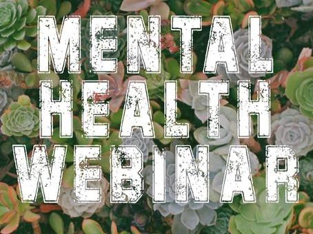 Mental Health Webinar
