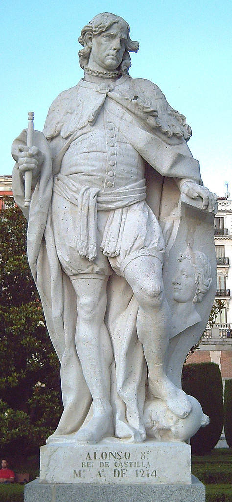 阿方索八世被稱為西班牙歷史上最偉大的基督教國王之一