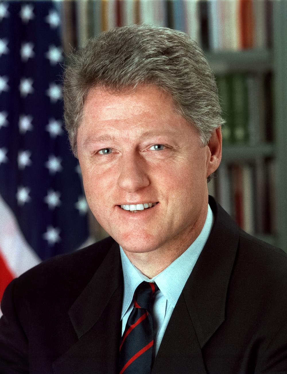 比爾·柯林頓(William Jefferson Clinton)第42任美國總統