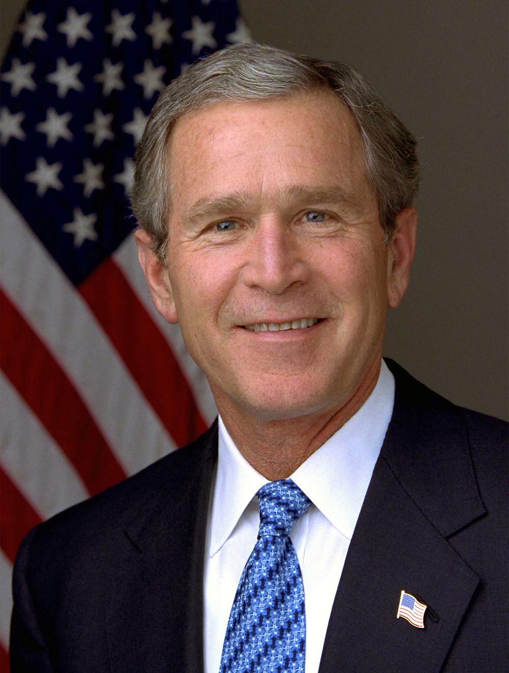 小布希(George Walker Bush)美國第43任總統