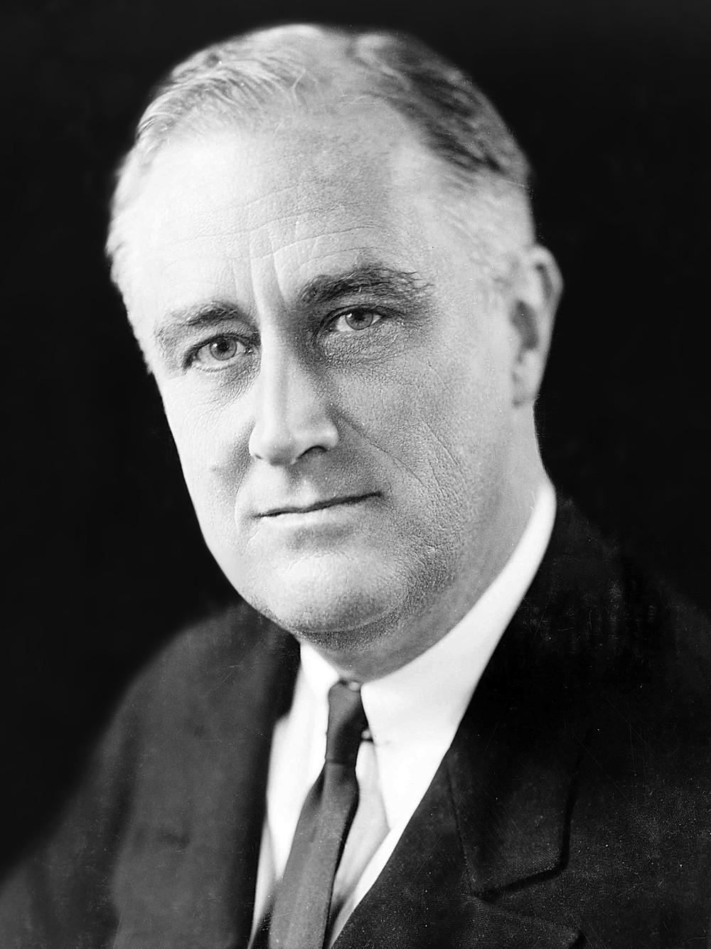 「小羅斯福」總統(Franklin Delano Roosevelt)