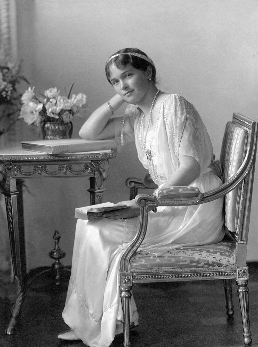 俄羅斯帝國末代女大公 奧爾加·尼古拉耶芙娜