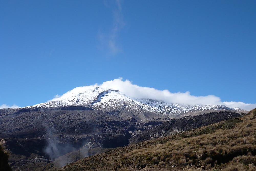 2007年時的內瓦多·德·魯伊斯火山