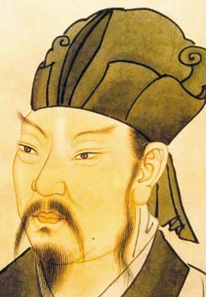 清宮殿藏本 韓愈畫像