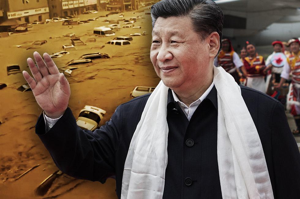唐浩:鄭州京廣隧道軍管嚴封,罹難太慘重?習近平遠走西藏,躲誰?