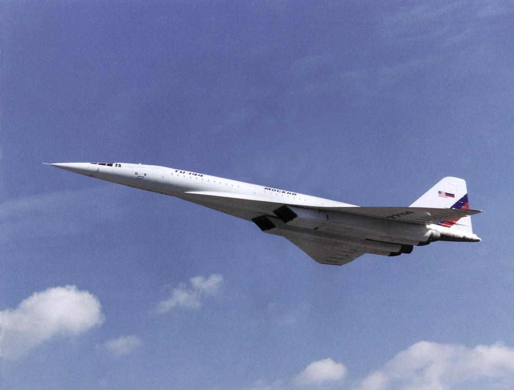 世界上第一款超音速客機 Tu-144