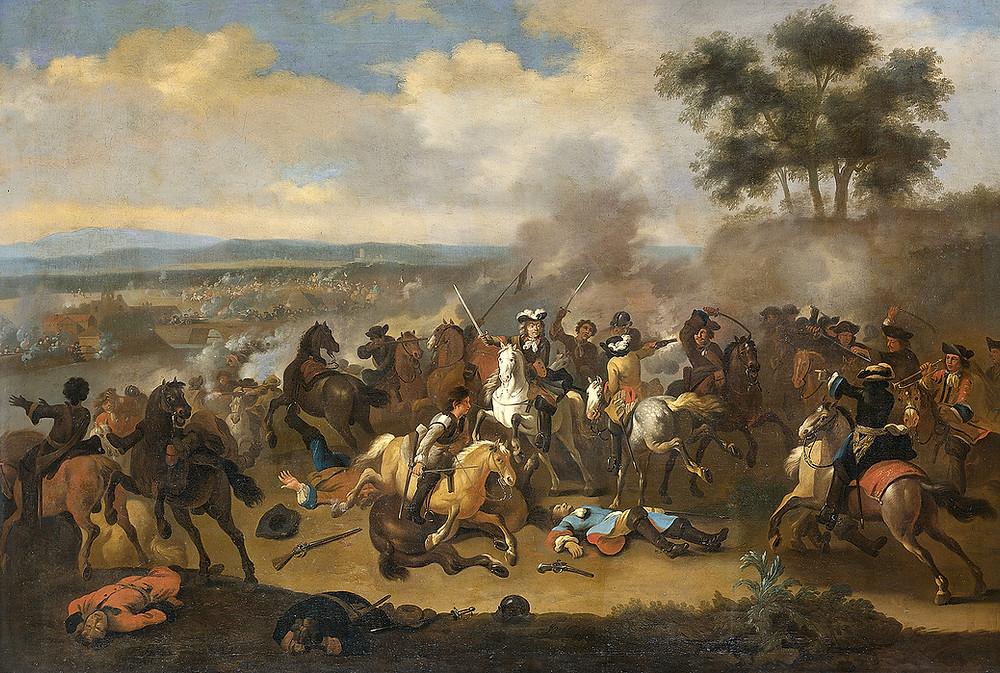 威廉三世 與 詹姆士二世 的激戰