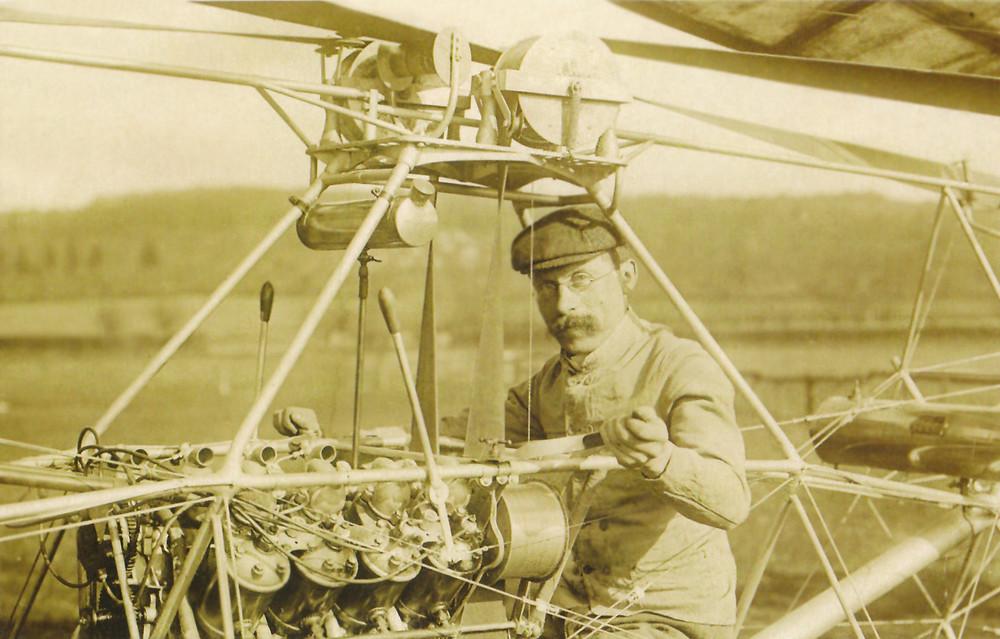 法國工程師 保羅·科爾尼(Paul Cornu)